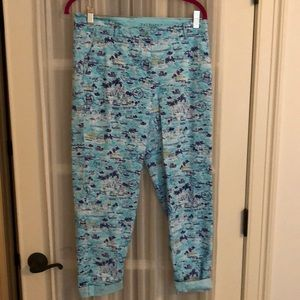 Patterned chinos